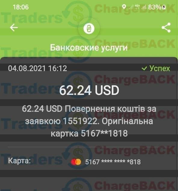 Вернуть деньги с ФОРЕКС